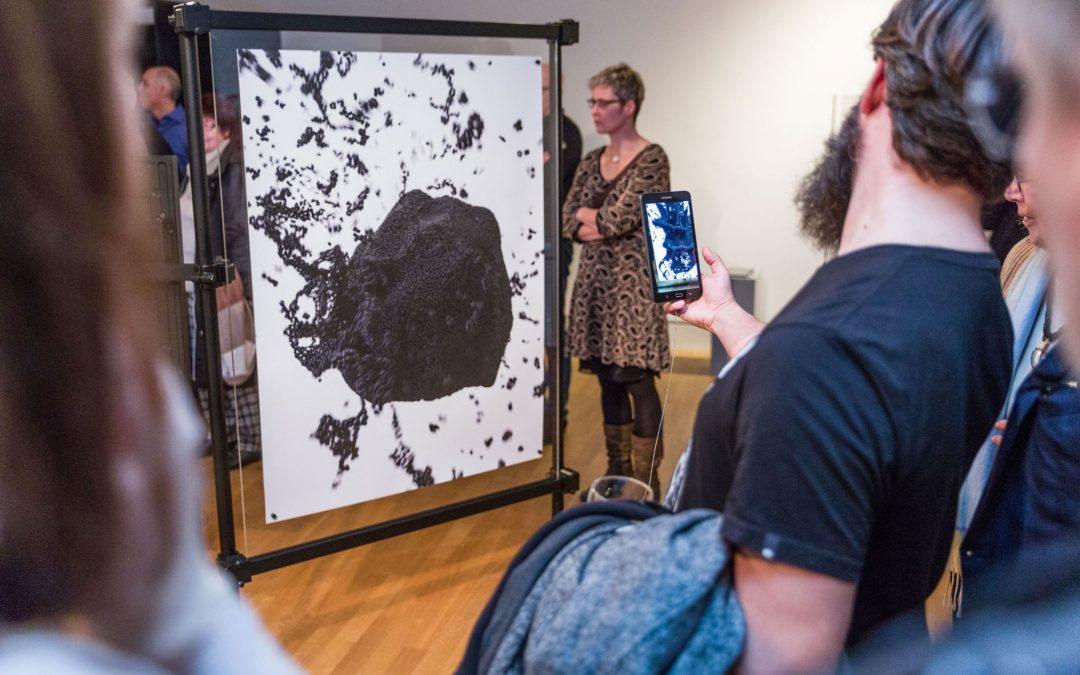 "Vernissage ""Digitale Skulptur – Follow the Unknown"""