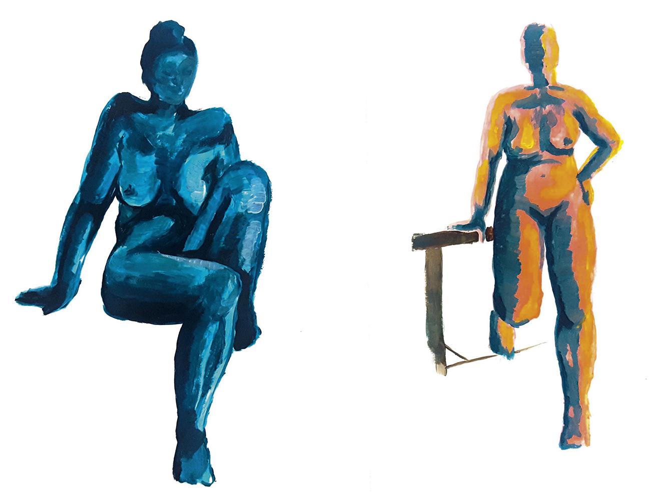 Figur Akt / Aileen Graf