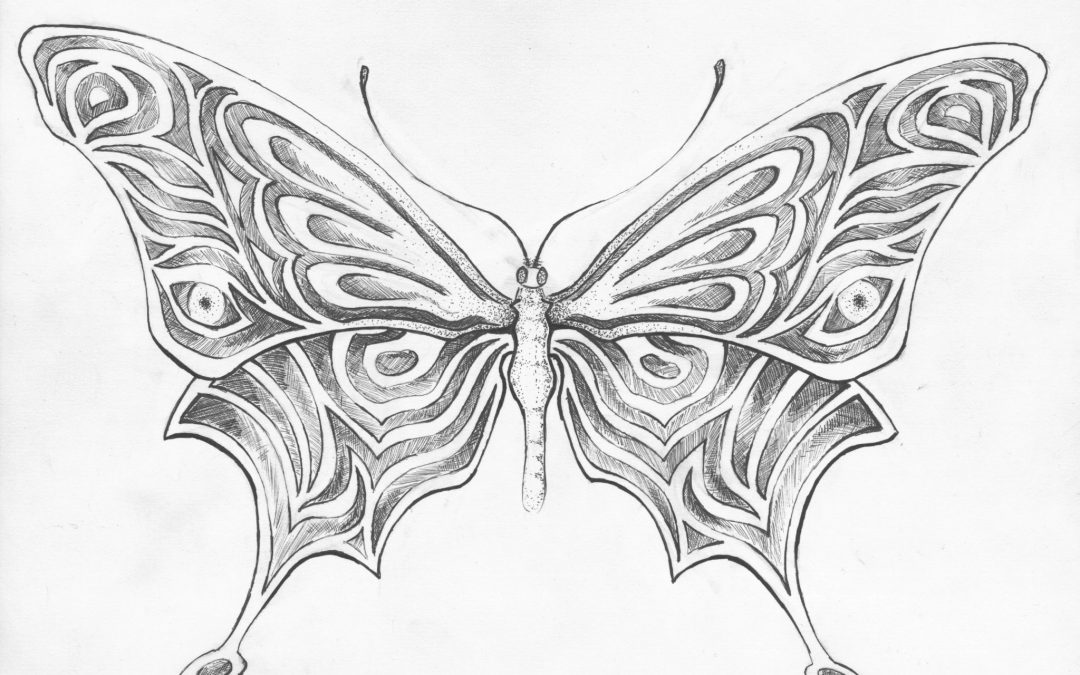 Butterfly & Co. From the head to the hand.