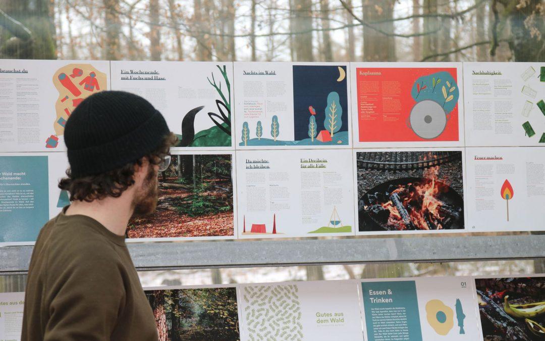 Präsentation Gutes aus dem Wald. Ein Handbuch für die Sinne.