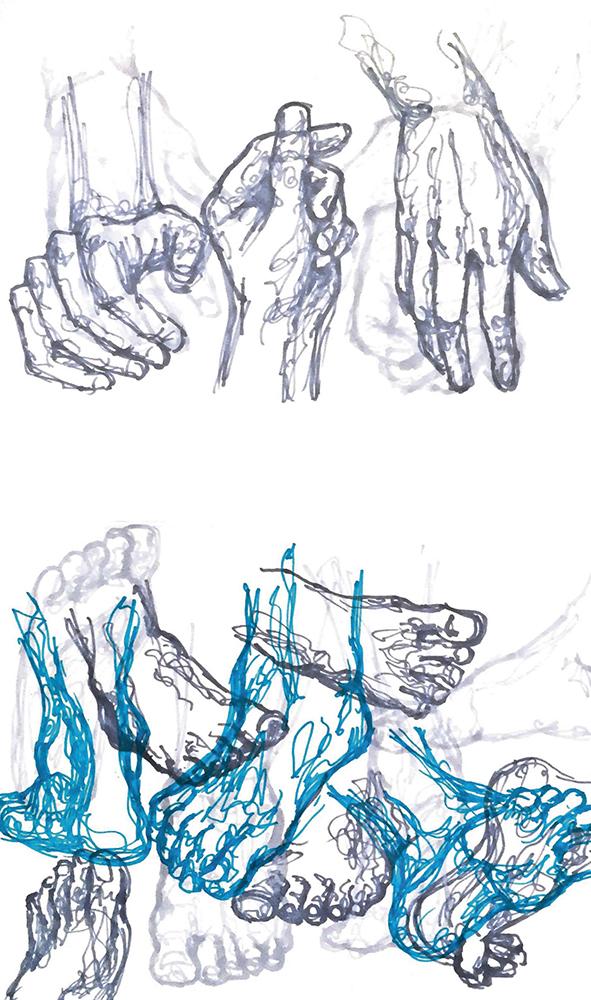 Figur Akt / Pia Geck