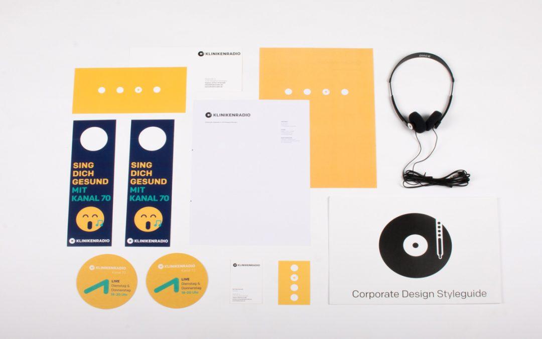 Neues Corporate Design für das Kliniken-Radio Bietigheim-Ludwigsburg e.V.